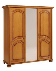 dulap 3 usi - Mobilier Dormitor Limoges - furnir stejar    RON0.00   #Mobila