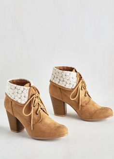Cute booties for fall