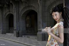 ストックフォト : A beautiful young woman in 1930's Shanghai