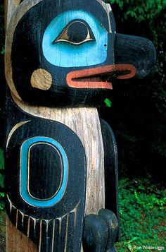 Sitka National Park, AK- Totem Poles (This picture doesn't do it justice)