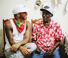 Lewis hamilton in Grenada with his grandad August 2016 Lewis Hamilton Formula 1, Michael Schumacher, Social Awareness, Formula One, Grenada, Champion, Celebrities, F1, Rock