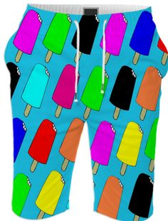 Popsicles Summer Short from Print All Over Me