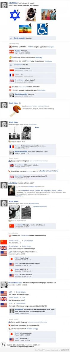 Facebook in the 1930's
