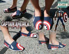 Captian America TOMS by cobaltdog