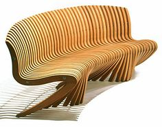 Handmade wood chair - i'm sorry - but this is a beautiful work of art to me - feel the energy just looking at it!