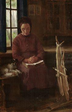 Huile sur bois en 1887 de Franz Heinrich Louis CORINTH / Lovis CORINTH (allemand 1858 – 1925)