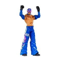 (Free Games For Kids Age Rey Mysterio Figure Series John Cena Toys, Wwe Bedroom, Wwe Toys, Free Games For Kids, Wwe Superstars, Cool Things To Buy, Action Figures, Bring It On, Wrestling