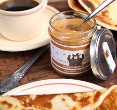 Karamellaufstrich mit Milch und Honig - Karamel Fleur de Sel