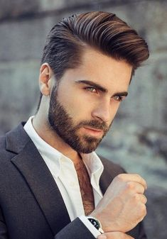 42 New Hairstyles for mens 2018 Mens Fashion | #MichaelLouis - www.MichaelLouis.com #MensFashionHairstyles