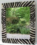 Zebra mirror for office