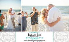 The Turtle Club | Naples Wedding Photographer | Jamie Lee Photography | Beach Ceremony | First Kiss