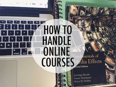 How To Handle Online Courses