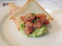 Spicy Tuna Tartare with Sauvignon Blanc