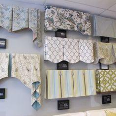 A variety of window treatment valances & cornice boards. - Yelp