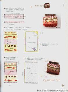 [转载]一缝就成的拼布小物+纸型