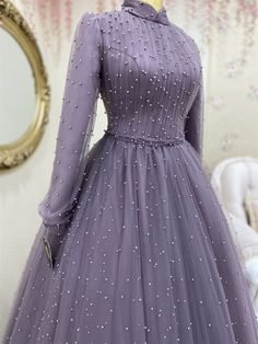 Hijab Prom Dress, Muslimah Wedding Dress, Hijab Evening Dress, Muslim Wedding Dresses, Wedding Dress Organza, Wedding Dresses For Girls, Party Wear Dresses, Hijab Gown, Dress Muslim Modern