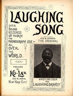 In 1890 George W. Johnson became the first African American to record commercially. A common story is that Johnson, a former slave, was discovered singing on the streets of Washington, D.C., by Berliner recording agent Fred Gaisberg. Gaisberg himself perpetrated this myth along with the falsehood that Johnson was later hanged for murdering his wife.