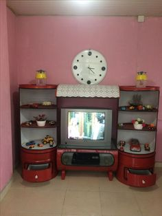 to save money on recycled furniture Garage Furniture, Barrel Furniture, Automotive Furniture, Diy Furniture Projects, Steel Furniture, Diy Pallet Projects, Recycled Furniture, Pallet Furniture, Indian Home Interior