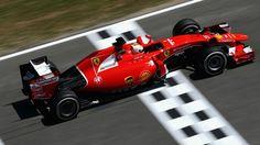 Sebasian Vettel ( Scuderia Ferrari ) SF15-T