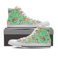 Shop sloth on Groove Bags Cute Baby Sloths, Cute Sloth, Baby Otters, Zoom Iphone, Iphone 5c, Buy Shoes Online, Looks Cool, Me Too Shoes, High Top Sneakers