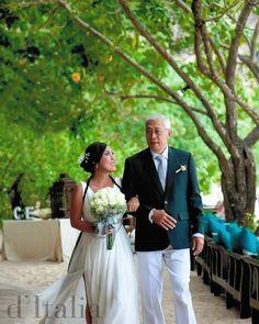 Beautiful and unique custom-made wedding dress www.ditalia.com.au/wedding #bridal #gown #dressmaking #melbourne