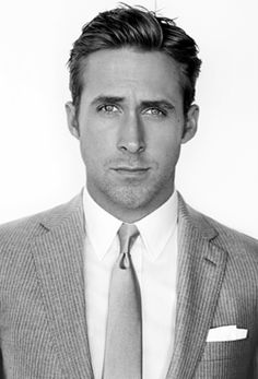 Ryan Gosling (like we didn't already know who it was)