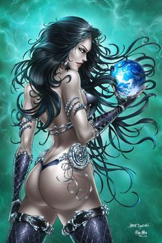 GFT Bad Girls #1, J. Tyndall by sinhalite.deviantart.com on @deviantART