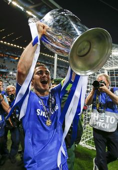 """""""I told you Chelsea was the best football club in the world, and tonight we are!         Frank Lampard 19 May 2012"""