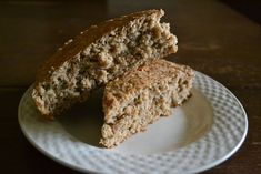 Unbelievably Easy and Healthy Oat Quickbread with Sunflower Seeds and Flax