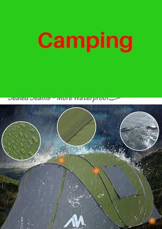 Tent Camping, Outdoors, Sports, Hs Sports, Outdoor Camping, Outdoor Rooms, Sport, Off Grid, Outdoor