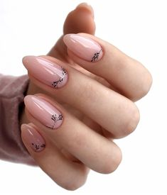 Pink gel short oval nails design, acrylic short oval nails design for s Oval Nails, Nude Nails, Glitter Nails, Acrylic Nails, Minimalist Nails, Spring Nail Art, Spring Nails, Prom Nails, Wedding Nails