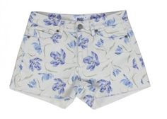 Now we have some shorts and jeans that are perfect for the sunny weather coming up in the next few weeks! Paige Denim has teamed up with Liberty of London and the two have come up with gorgeous floral shorts and jeans.