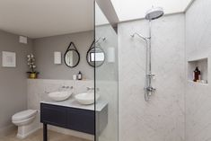 Bespoke London based property developers producing high end residential projects Victorian Terrace Interior, Open Showers, Terrace Design, Uk Homes, Property Development, Family Bathroom, Bathroom Design Small, House Extensions, Bedroom Loft