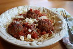 Lauren's Menu: OMG...Mediterranean Meatballs