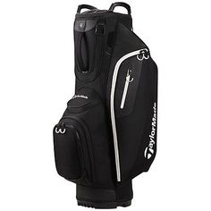 New TaylorMade Golf- 2017 Cart Lite Cart Bag Black B1575601