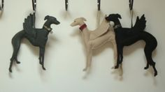 Whippet / Greyhound Angel Decoration by DogsandRosesOnline