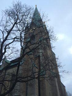 Linköping påväg till adventsmässa