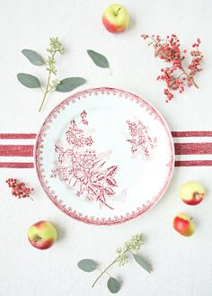 Vintage French Plates Margot