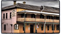 Forbes Pub, taken January 2015. Available for purchase on Red Bubble http://www.redbubble.com/people/cyn75/works/14157203-forbes-pub #forbes #newsouthwales #australia #beer #building #retro #country