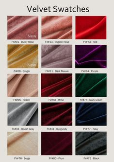 RenzRags Bigger Swatch Pieces for Sequined Fabric with 16 Colors Large Swatch Pieces Available For Party DressBridesmaid DressProm Dress