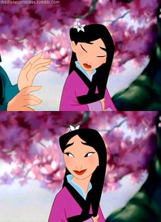 Mulan ' The flower that blooms in adversity is the rarest and most beautiful of all'