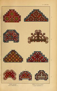 Mordvalaisten pukuja kuoseja. Trachten und Muster der Mordvinen Costumes and patterns of Mordvinians (425 of 638)