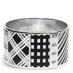 The Mixed Print Bangle from Coach