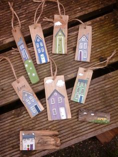 Sally's Shed - mini hanging/key rings