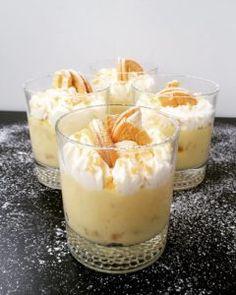 Sweet Desserts, Dessert Recipes, Greek Sweets, Greek Recipes, Greek Meals, Parfait, Tart, Panna Cotta, Cream