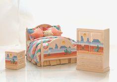 Southwestern PAINTED DESERT HandPainted Dollhouse by MiniatureLane