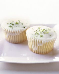 """See the """"Triple-Citrus Cupcakes"""" in our Martha Stewart's Cupcakes gallery"""