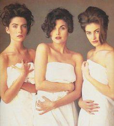 Madchen Amick, Lara Flynn-Boyle, Sherylin Fenn ( Twin Peaks)