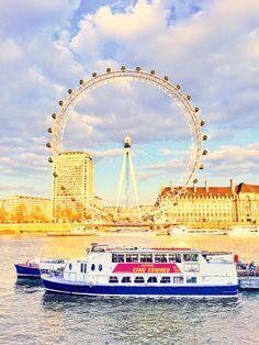 London Eye, London. www.kevinandamanda.com #travel #london