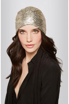SAINT LAURENT Chainmail turban